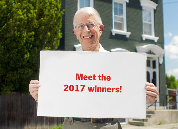 Meet the 2017 winners!